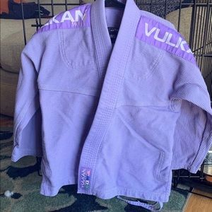 Vulkan Jiu Jitsu Gi Lavender Girls